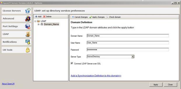 OpenLM Directory Synchronization (LDAP): Basic Guide