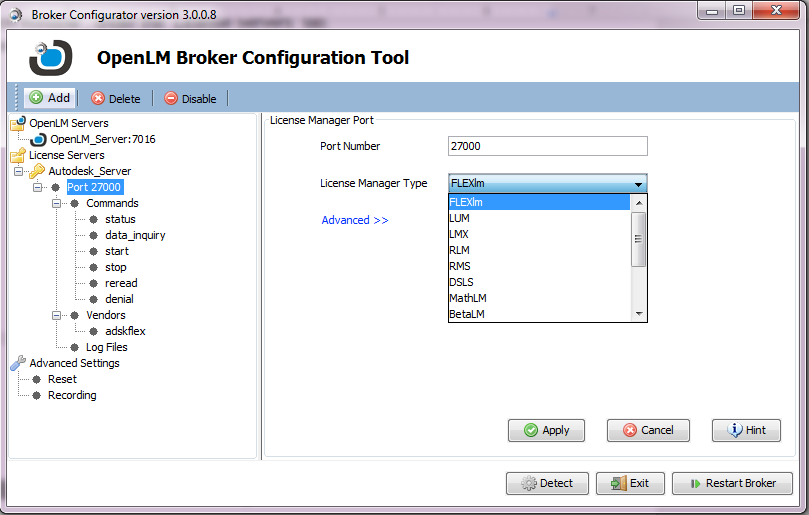 OpenLM Broker installation Guide: Quick Reference - AN4004a