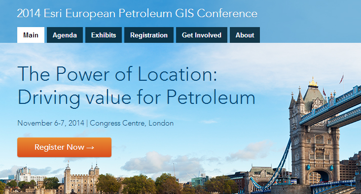 OpenLM at Esri European Petroleum GIS Conference 2014