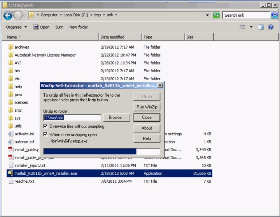 Installing a MATLAB floating license in conjunction with an existing Autodesk flexlm license ...