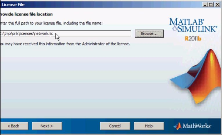 Installing a MATLAB floating license in conjunction with an
