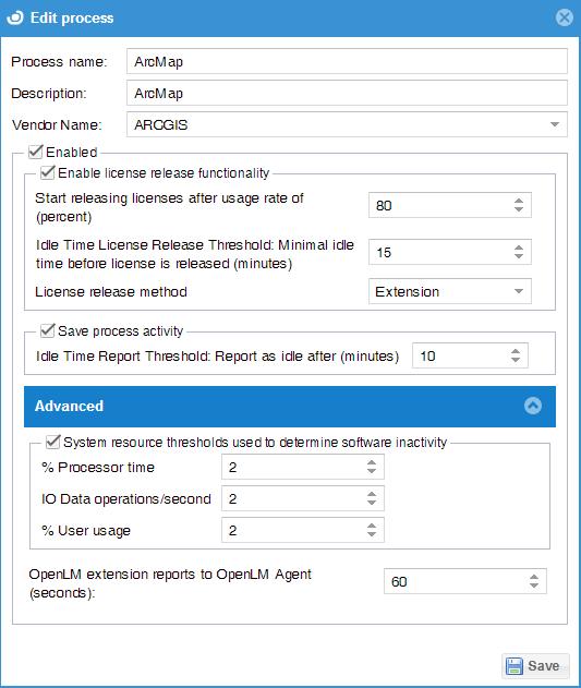 License retrieval of idle applications (MATLAB, Autodesk