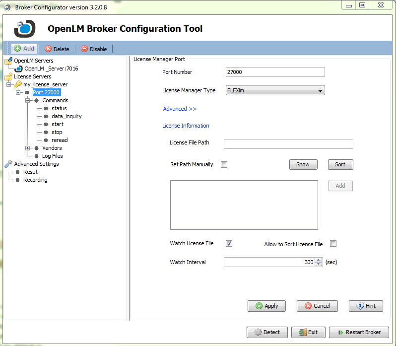 OpenLM Broker Installation Guide: Comprehensive - AN4004b - OpenLM
