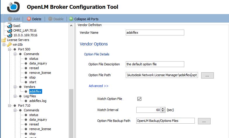 Options File management Using OpenLM EasyAdmin - KB4007