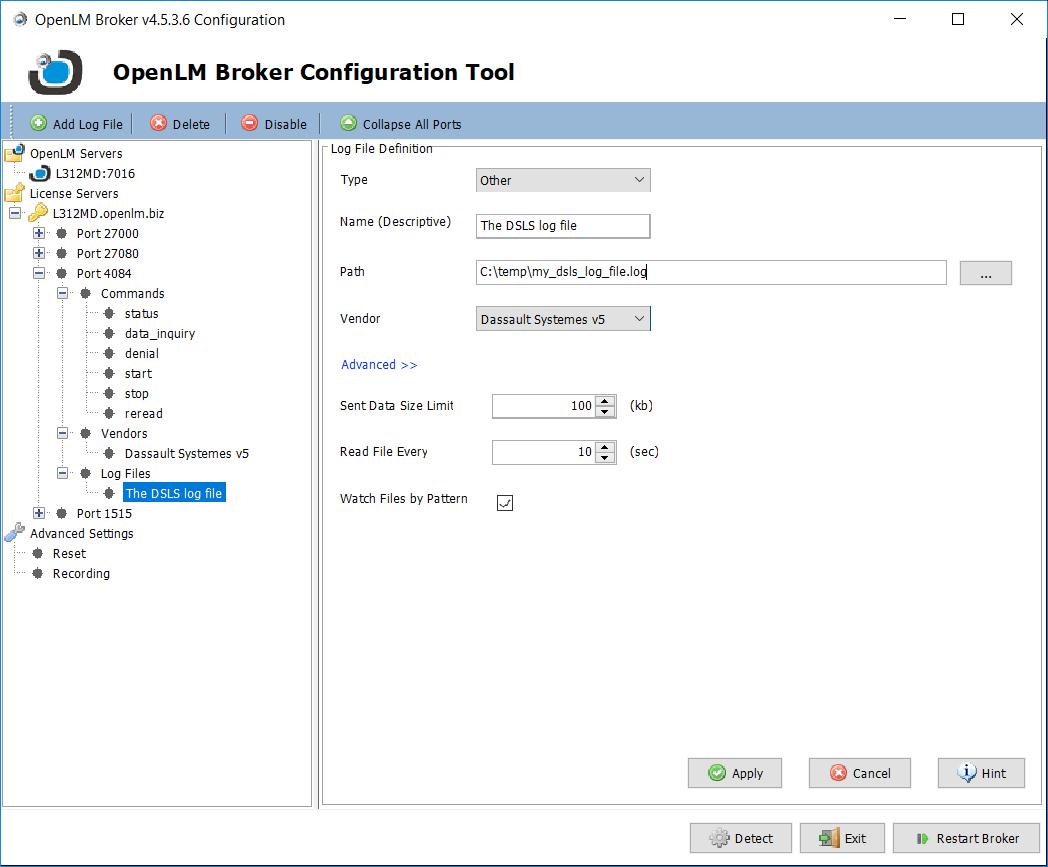 Interfacing the DSLS license manager - KB4001c - OpenLM Software