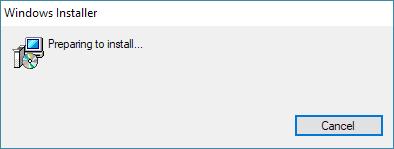 OpenLM Broker Installer wizard welcome screen.