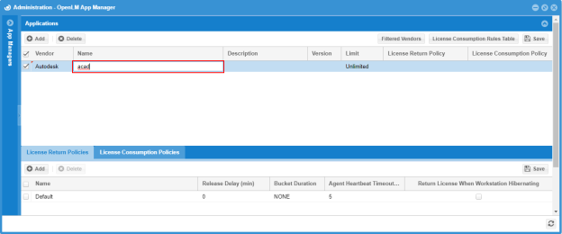 Configuring OpenLM Applications Manager 1 9 - OpenLM