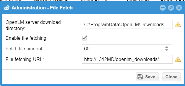 EasyAdmin File Fetching configuration for IIS