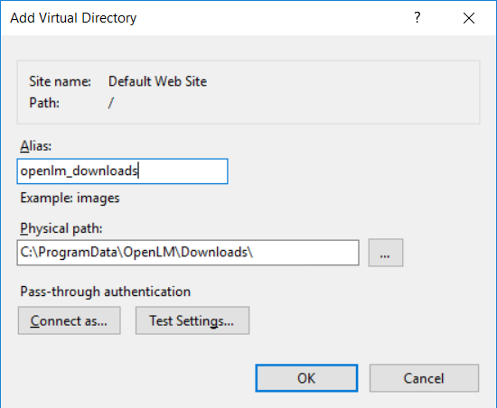Adding a new virtual directory for file fetching to work with EasyAdmin