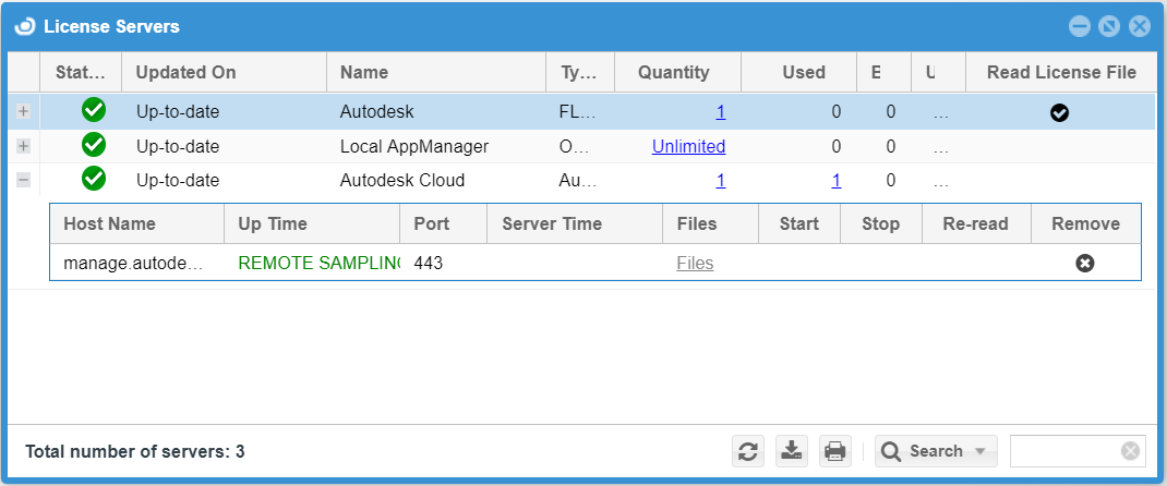 Interfacing the Autodesk Cloud license manager - HT902