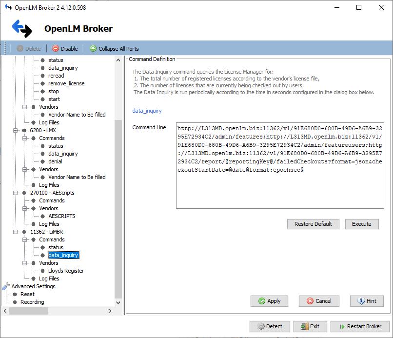 automatic broker configuration
