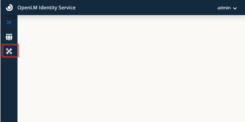 Identity service settings